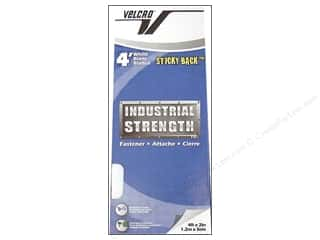 "VELCRO brand STICKY-BACK Industrial 2""x4' White"