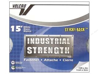 2013 Crafties - Best Adhesive: Velcro Sticky Back Industrial Strength 2 in x 15 ft White (15 feet)
