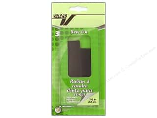 Velcro Sew On Square 7/8 in. Black 3pc.