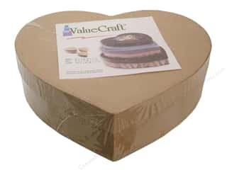 Paper Mache Hearts: Paper Mache Thin Heart Box Value Pack Set of 3 by Craft Pedlars