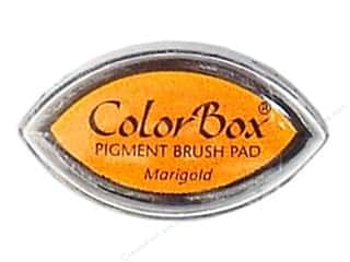 Clearsnap ColorBox Pigment Inkpad Cat's Eye: ColorBox Pigment Inkpad Cat's Eye Marigold
