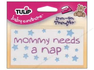 Tulip Iron On Transfer Mommy Nap