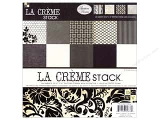 DieCuts Paper Stack 8x8 Print La Creme