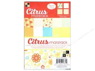 DieCuts Printed Mat Stack 6.5x4.5 Citrus