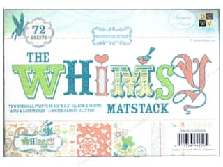 DieCuts Printed Mat Stack 6.5x 4.5 Whimsy