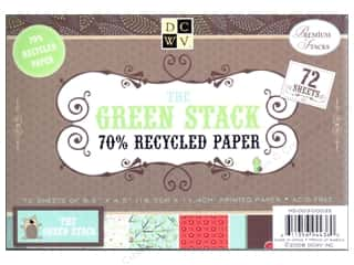 DieCuts Printed Mat Stack 6.5x 4.5 Green Recycled
