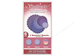 Spellbinders Nestabilities Classic Scalloped Circles Small