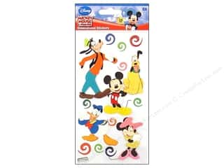 Mickey: EK Disney Sticker 3D Mickey & Friends