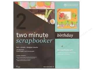 Scrapbooking: Autumn Leaves 2 Min Kit 12x12 Mins SB Birthday