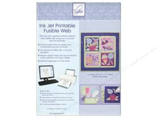 Books & Patterns Computer Accessories: June Tailor Fusible Web Ink Jet Printable 6pc