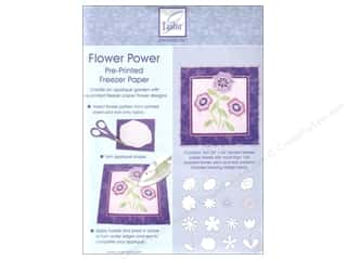 June Tailor Freezer Paper Pre-Printed Flwr Power