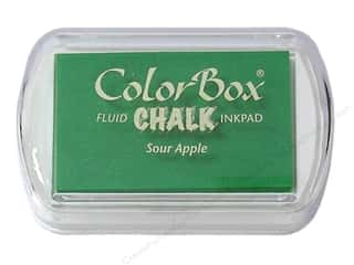 ColorBox Fluid Chalk Ink Pad Full Size Sour Apple