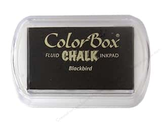 Clearance ColorBox Fluid Chalk Mini Ink Pad: ColorBox Fluid Chalk Ink Pad Full Size Blackbird
