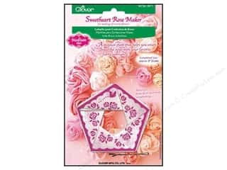2013 Crafties - Best Quilting Supply Clover Wonder Clips: Clover Sweetheart Rose Maker Medium