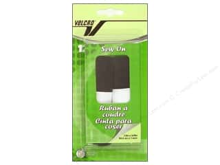 Velcro Sew On Tape 5/8 x 12 in. Black