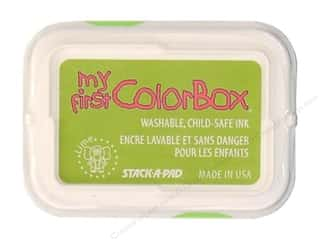Kids Crafts Spring Cleaning Sale: My First ColorBox Dye Ink Pad Lime