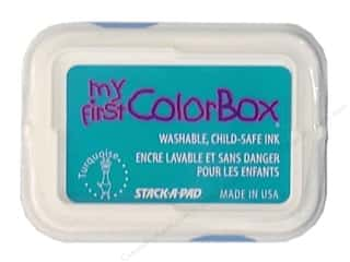 ColorBox Ink, Ink Pads & Brayers: My First ColorBox Dye Ink Pad Turquoise