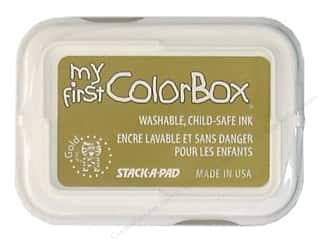 Colorbox My First Pigment Ink Pad Pad Gold