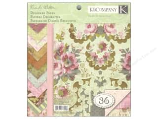 K&amp;Co Paper Pad 8.5x8.5 Madeline Designer