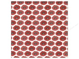 Autumn Leaves Paper 12x12 Pretty Poppies UV (25 sheets)