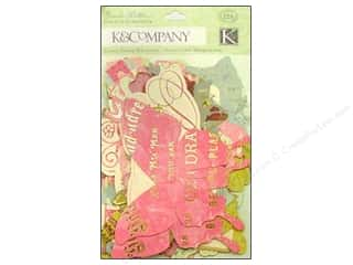Best Creation Paper Die Cuts / Paper Shapes: K&Company Die Cut Cardstock Cardstock Madeline