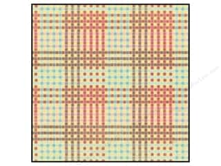 K&Co Paper 12x12 Wild Raspberry Block Plaid (25 sheets)