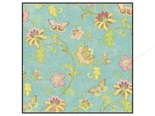 K & Company Height: K&Company Paper 12x12 Wild Raspberry Flowers & Butterflies Glitter (12 sheets)