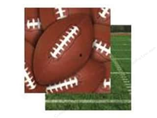 Scrappin Sports Paper 12x12 Classic Football (25 sheets)