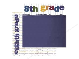 Scrappin Sports Paper 12x12 Defining Eighth Grade (25 sheets)