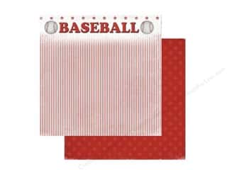 Scrappin Sports Paper 12x12 Baseball Game (25 sheets)