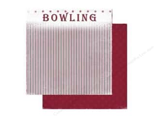 Holiday Sale: Scrappin Sports Paper 12x12 Bowling Game Day (25 sheets)