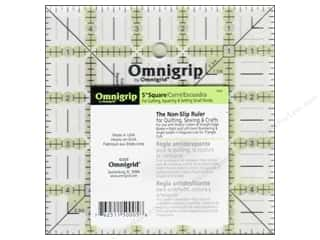 "Weekly Specials Rotary: Omnigrid Omnigrip Non-Slip Neon Ruler 5"" Square"