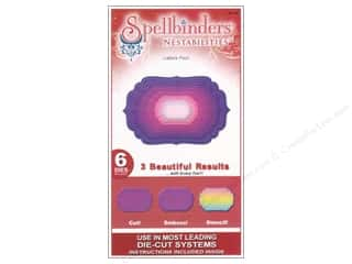 Holiday Gift Ideas Sale Spellbinders: Spellbinders Nestabilities Die Labels Four