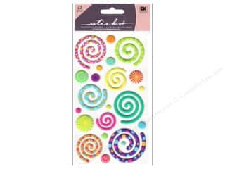 Clearance Blumenthal Favorite Findings: EK Sticko Stickers Puffy Swirly Gigs