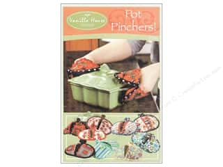 Stitchin' Post Table Runner & Kitchen Linens Patterns: Vanilla House Pot Pinchers Pattern