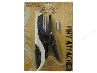 Tim Holtz paper dimensions: Tim Holtz Idea-ology Tools Tiny Attacher Stapler
