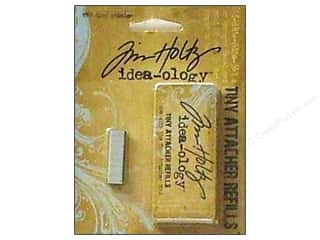 Tim Holtz $4 - $6: Tim Holtz Idea-ology Tools Tiny Attacher Refill Staples 1550pc