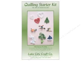 Holiday Gift Ideas Simply Art Starter Kit: Lake City Crafts Quilling Kit Mini Starter
