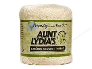 Mary's Productions $6 - $7: Aunt Lydia's Bamboo Crochet Thread Size 10 Natural