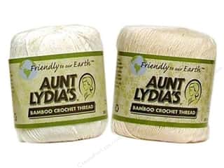 Aunt Lydia&#39;s Bamboo Crochet Thread Size 10