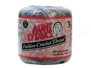 Pearl Cotton $21 - $23: Aunt Lydia's Fashion Crochet Thread Size 3 #93 Monet