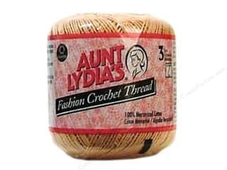Pearl Cotton $21 - $23: Aunt Lydia's Fashion Crochet Thread Size 3 #31 Copper Mist