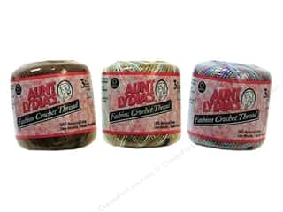 Weekly Specials Aunt Lydias: Aunt Lydia's Fashion Crochet Thread Size 3, SALE $2.39-$3.19.