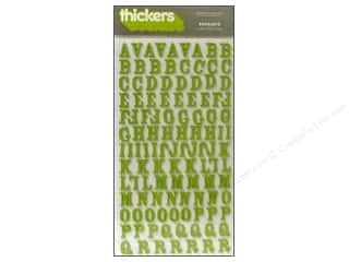 Thickers Alphabet Stickers Foam Rockabye Leaf