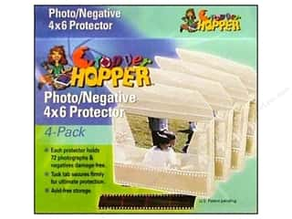 "Page Protectors 6 x 6: Cropper Hopper Photo /Negative Protector 4""x 6"" 4pc"