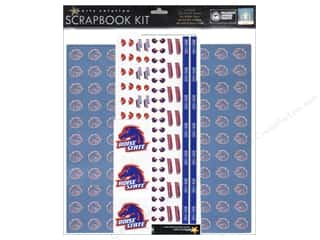 Sports Scrapbooking & Paper Crafts: Sports Solution Scrapbook Kit Boise State
