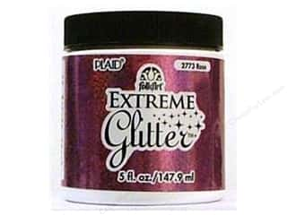 Plaid FolkArt Extreme Glitter Paint 5oz Rose