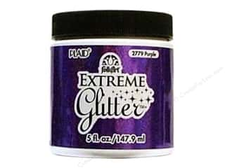 Plaid FolkArt Extreme Glitter Paint 5oz Purple