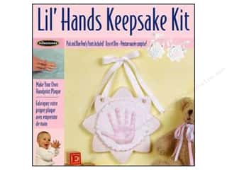 Resin, Ceramics, Plaster $7 - $10: Milestones Keepsake Kits Lil Hands Flower