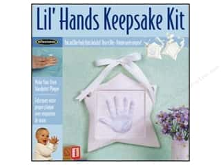 Resin, Ceramics, Plaster Flowers: Milestones Keepsake Kits Lil Hands Star